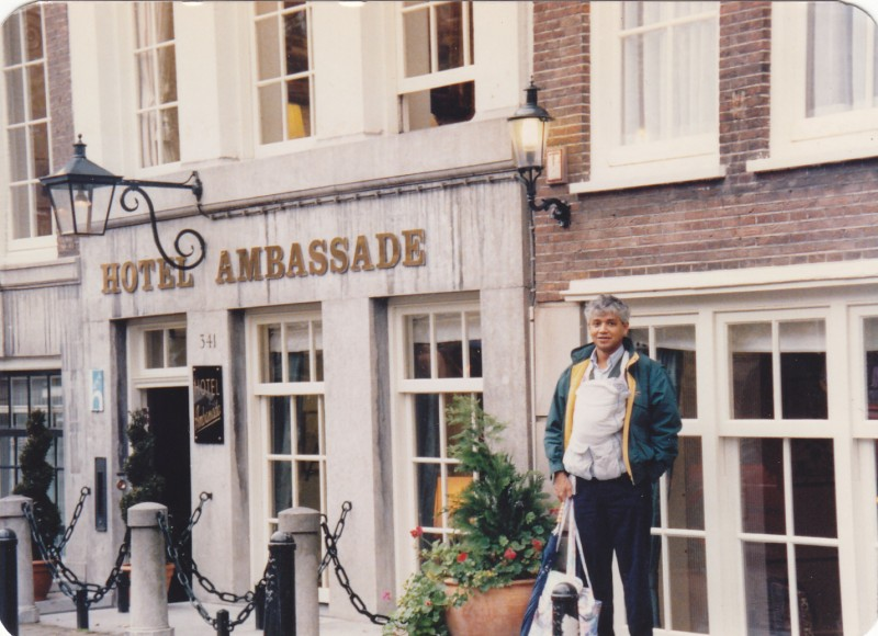 Synchronicities in amsterdam amitav ghosh Ambassade hotel amsterdam