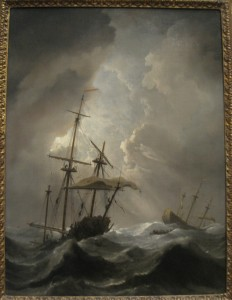 'Storm at Sea' Willem van de Velde the Younger (1633-1707) [Wikimedia Commons]
