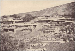 Kurdish village, c. 1938 (http://www.saradistribution.com/otherranksofkut.htm)
