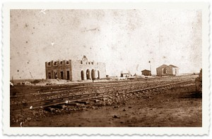 Train station near Aleppo