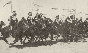 Indian Cavalry charge, Mesopotamian front