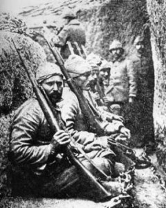 Ottoman soldiers at Gallipolli
