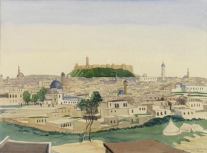 Aleppo, 1919, by Sydney W. Carline (http://www.iwm.org.uk/collections/item/object/4385)