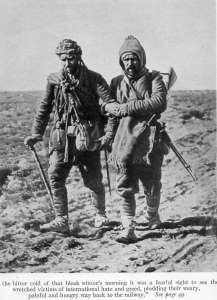 Turkish soldiers returning from the Balkans (Wikimedia)