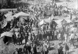 Armenian refugees (Lib of Congress)