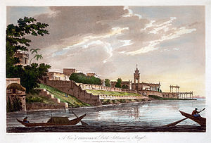 'A View of Chinsurah, the Dutch Settlement in Bengal' (Wikimedia)