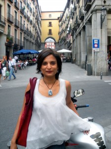 Pallavi Aiyar in Spain