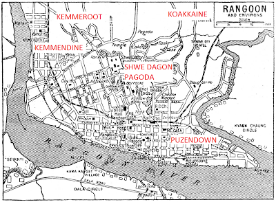 Old Rangoon Sketch Map