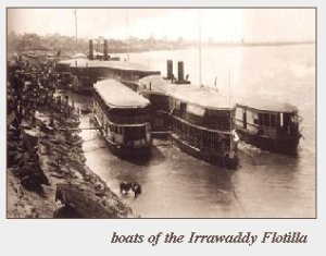 Boats of the Irrawaddy Flotilla Company