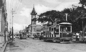 Trams, Mandalay
