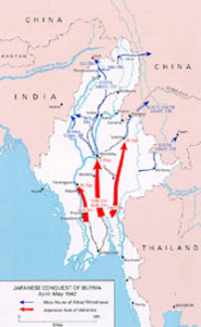 Japanese conquest of Burma, 1942